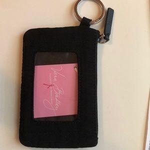 Black Zip ID case